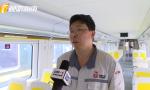 海南首列市郊列車抵瓊 設計師梁才國介紹設計市郊列車設計理念