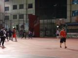 日落東單:太陽落下,籃球升起