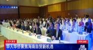 自贸大家谈:华人华侨聚焦海南自贸新机遇