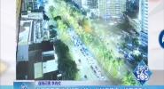 海口市區交通運行壓力較大 龍昆南路南大橋車流集中