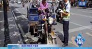 乐东:摩托车别违法 严罚严管少不了