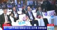 自贸进行时:第十六届世界海南乡团联谊大会在三亚开幕 沈晓明致辞