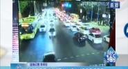 海口市區交通運行壓力大 進出城方向車流密集