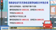 海南省优化调整电动汽车峰谷分时电价政策