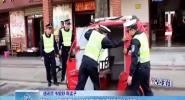 陵水:交警开展摩托车违法专项整治行动