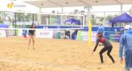 沙滩排球小组赛:海南代表队5胜3负实现开门红