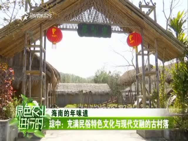 琼中:充满民俗特色文化与现代交融的古村落