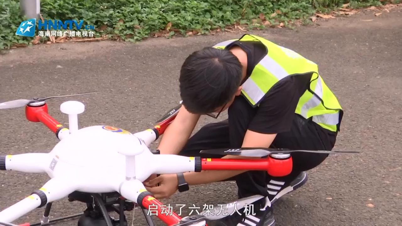 微视频:无人机抓拍 占用应急车道行为减半