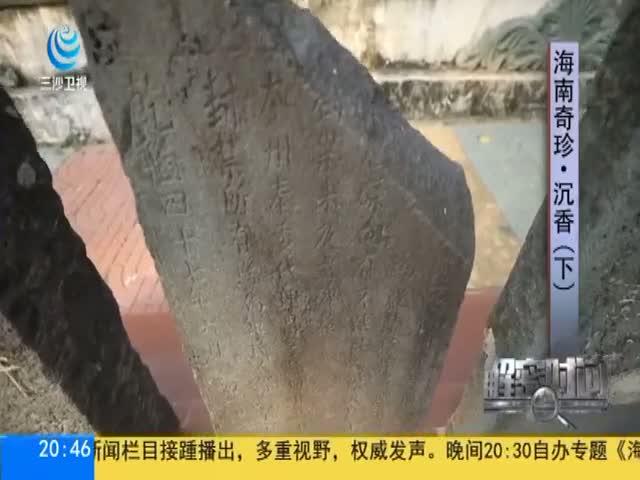 海南奇珍·沉香(下)