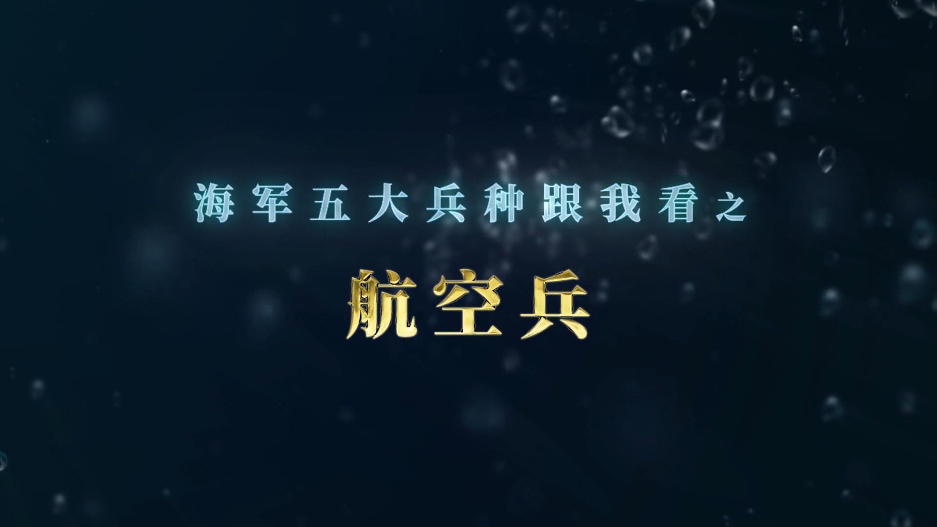 """""""海軍五大兵種跟我看""""之 航空兵宣傳片"""
