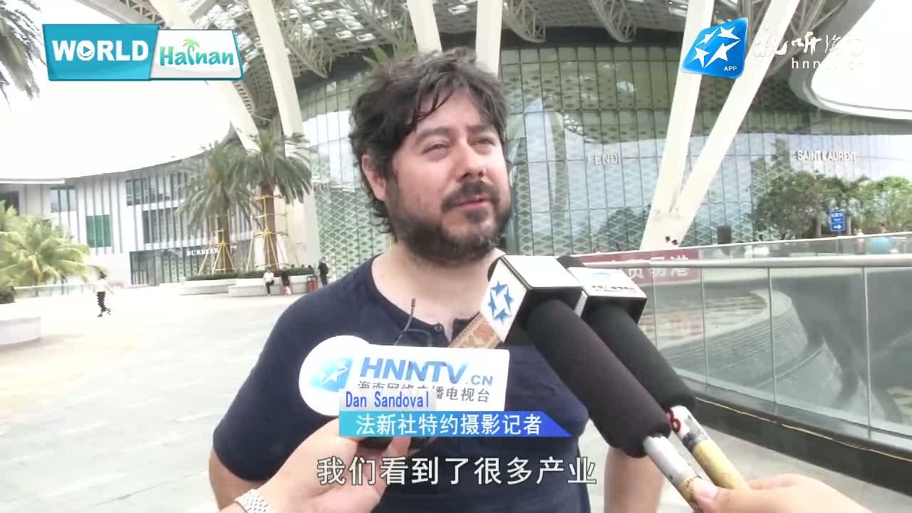 """WorldHainan丨""""洋""""记者眼中的海南"""