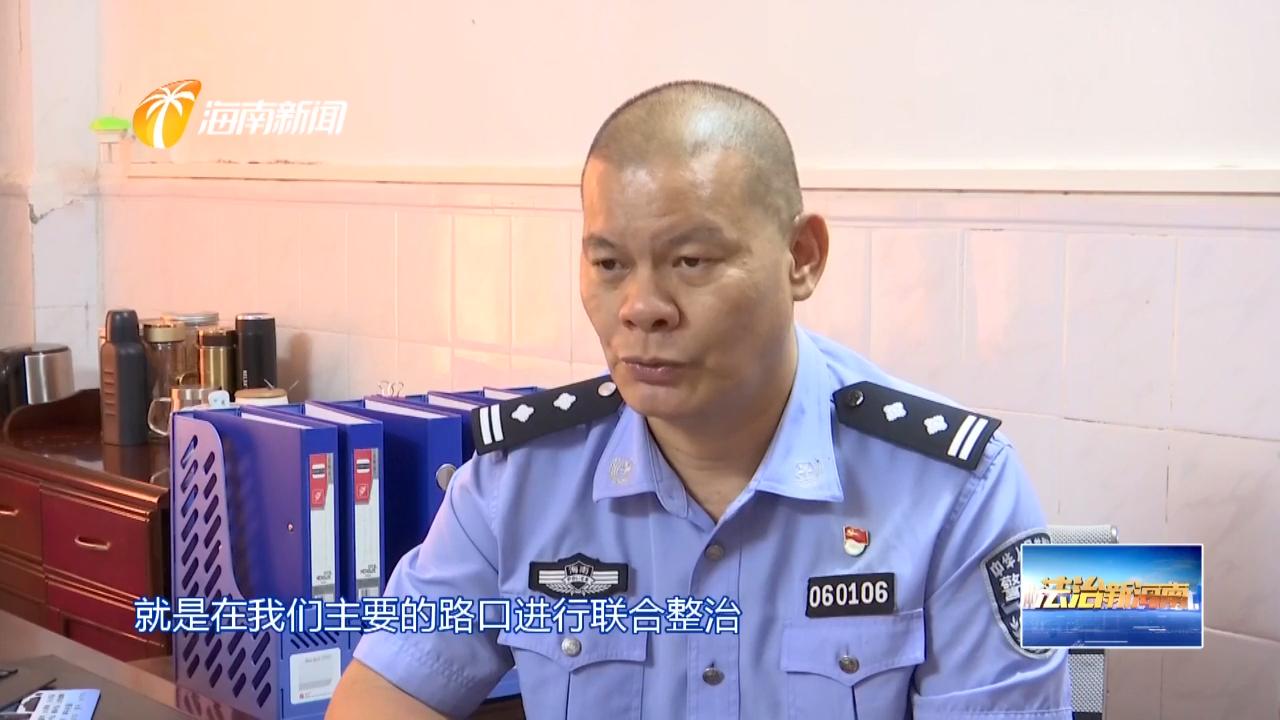 26年无公休的交警大队长李仕向