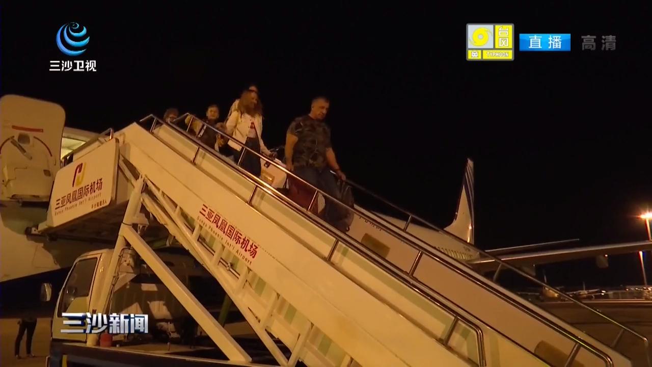 """托木斯克=三亚直航线正式开通 再添国际航空""""朋友圈"""""""