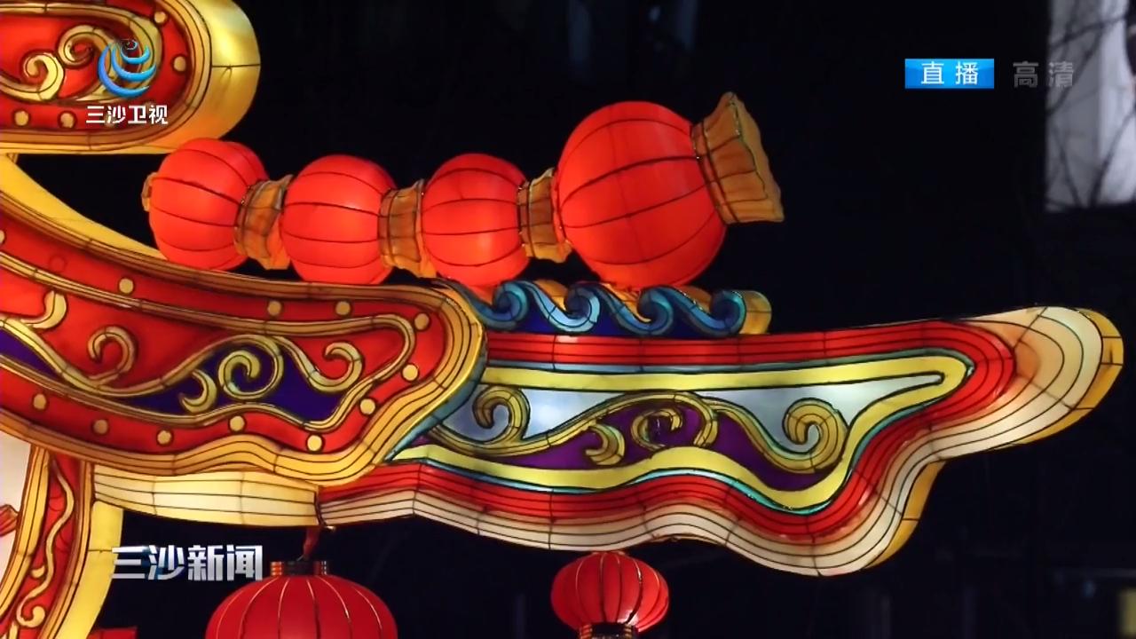 北京:迎春灯笼高挂 街头年味浓厚