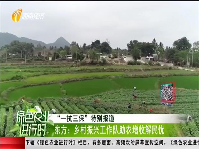 东方:乡村振兴工作队助农增收解民忧