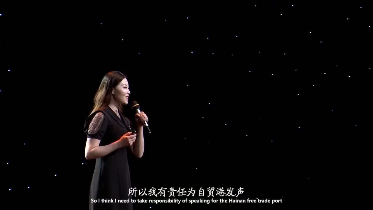 海南广电这场TED英文演讲吸引了我!