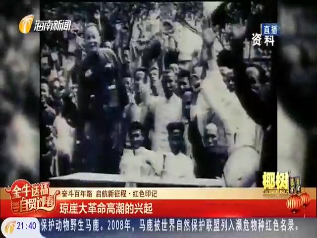 奋斗百年路 启航新征程:琼崖大革命高潮的兴起