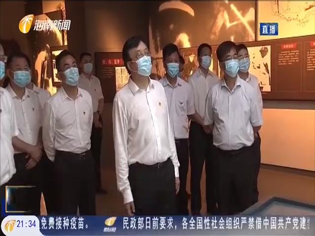 冯飞赴临高调研经济社会发展工作