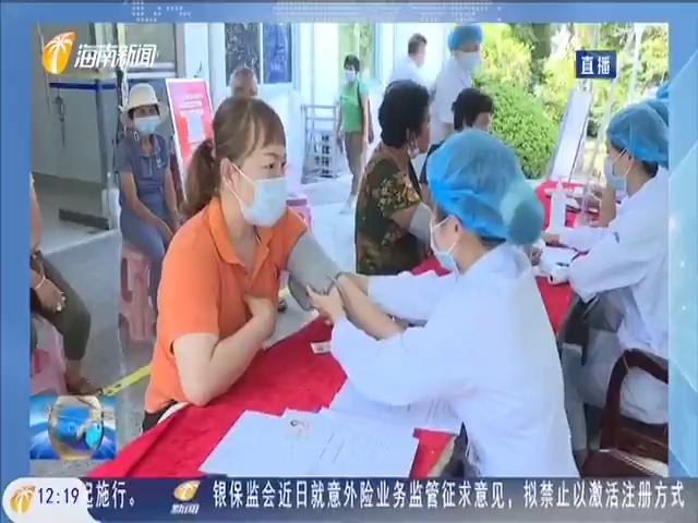 陵水首批新冠疫苗移动接种车投入使用
