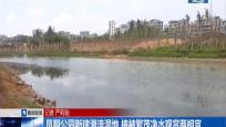 凤翔公园新建潜流湿地 植被繁茂净水观赏两相宜