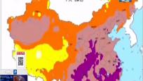 全国降雨减弱 中东部气温飙升