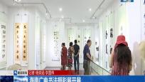 海南广电书法摄影展开展