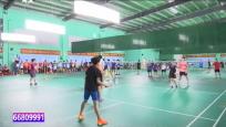 羽毛球赛展开角逐 全省各队崭露头角