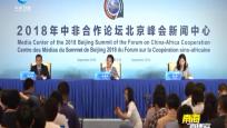 中国政府非洲事务特别代表许镜湖举办媒体吹风会