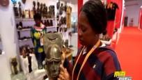 聚焦进口博览会:进博会上的新奇产品——科特迪瓦面具