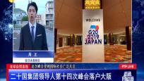 全球自貿連線:二十國集團領導人第十四次峰會落戶大阪