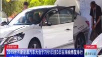 自貿進行時 2019世界新能源汽車大會于7月1日至3日在海南博鰲舉行