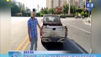 """""""违法必究""""·东方:男子无证驾驶假牌车 被罚万元拘留20日"""