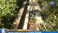 儋州那大镇铺仔路 排水沟污水发臭 垃圾遍地