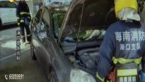 轎車冒煙市民報警 消防提醒注意保養