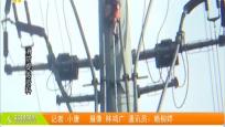 男子爬上20米电线杆 多部门联动化险为夷