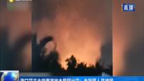 海口花卉大世界富林木屋园火灾:未发现人员被困