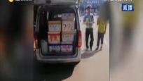"""臨高:小客車大""""變身""""  亂載貨被查處"""