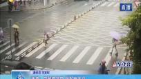 洋浦:交警護學崗 撐起安全傘