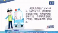 儋州:交通整治一个月 查处交通违法14535起