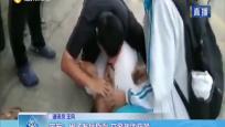 定安:男子发病昏倒 交警救助获赞
