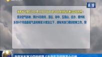 海南发布寒冷四级预警 6市县气温将降至个位数