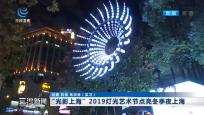 """""""光影上海""""2019灯光艺术节点亮冬季夜上海"""