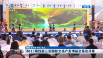 2019第四屆三亞國際文化產業博覽交易會開幕