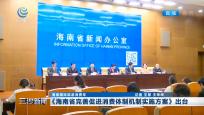 海南國際旅游消費年 《海南省完善促進消費體制機制實施方案》出臺