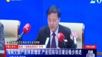 专题记者会二 海南文旅产业体质增效 产业招商项目建设稳步推进