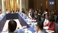 省政協委員討論政府工作報告 毛萬春參加