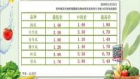 全国各地市场海南冬季瓜菜的批发价格