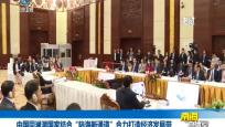 """中国同澜湄国家结合""""陆海新通道""""合力打造经济发展带"""