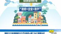 海南2020年將新建30個產業特色小鎮 184個美麗鄉村