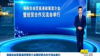 海南自由贸易港政策宣介会暨经贸合作交流会举行